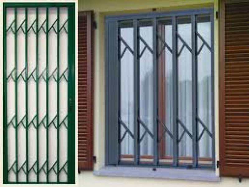 Inferriate grate di sicurezza e cancelletti a padova for Grate in legno per balconi