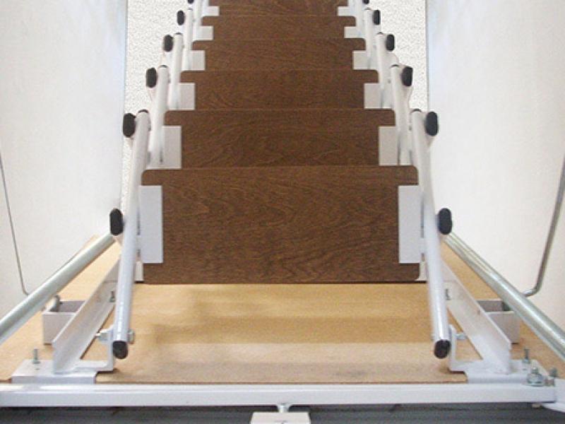 Scale a scomparsa su misura a padova scale retrattili padova - Scale per soppalchi ...