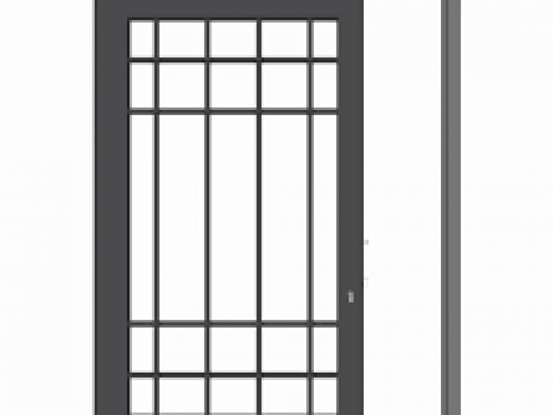 Grate di sicurezza per finestre prezzi good grate di sicurezza apribili su misura con doppio - Costruire una finestra ...