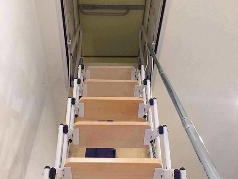 scale a scomparsa su misura a padova scale retrattili padova